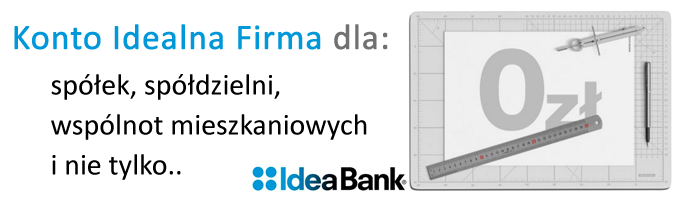 Konto Idealne w Idea Bank