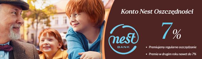 Nest Bank - konto oszczędnościowe