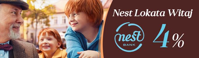Nest Bank - Lokata Witaj 4%
