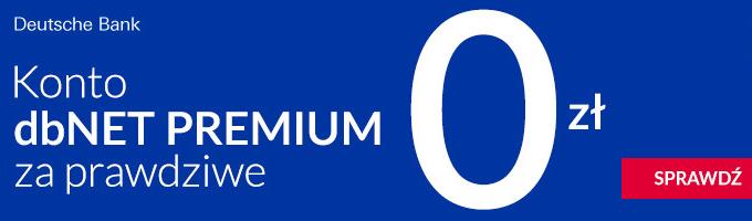 Darmowe Konto Premium w Deutsche Bank