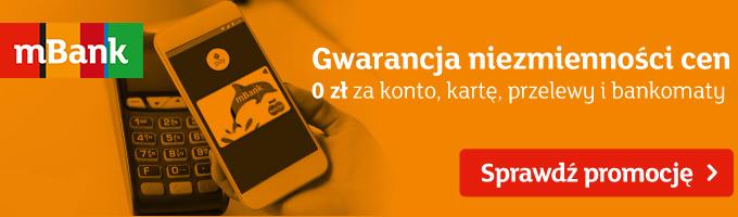 Otwórz eKonto w mBanku i odbierz 650 zł za zakupy