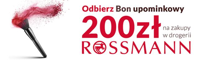 Odbierz bon 200 zł do sklepu Rossmann za założenie konta w Nest Bank