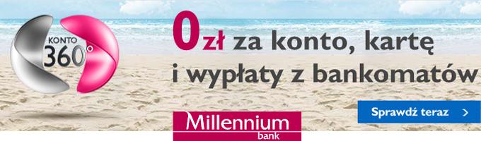 Konto 360 w Millenium Bank