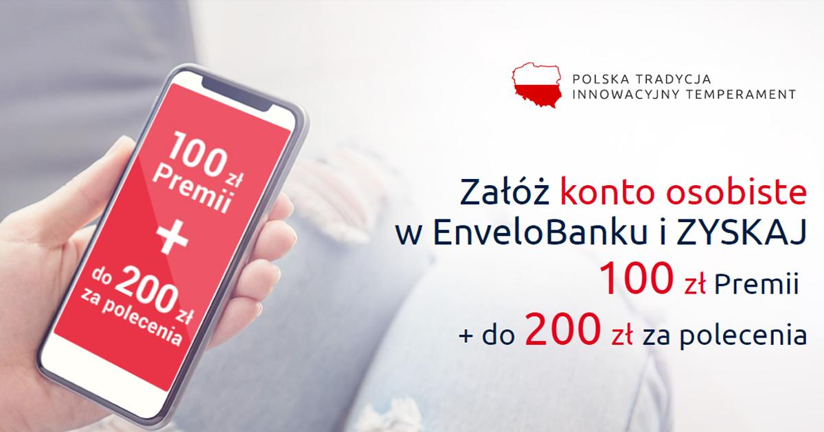 Konto osobiste w EnveloBank