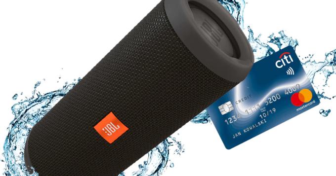 Załóż bezpłatną kartę Citi Simplicity i odbierz głośnik JBL za darmo