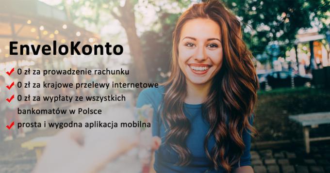 EnveloKonto - darmowe konto osobiste w EnveloBank