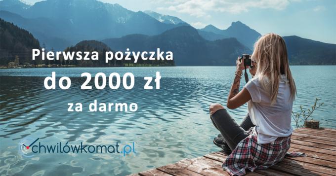 Pierwsza darmowa pożyczka w Chwilówkomat do 2000 zł