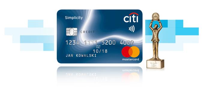 Najlepsza Karta Kredytowa Citi Simplicity