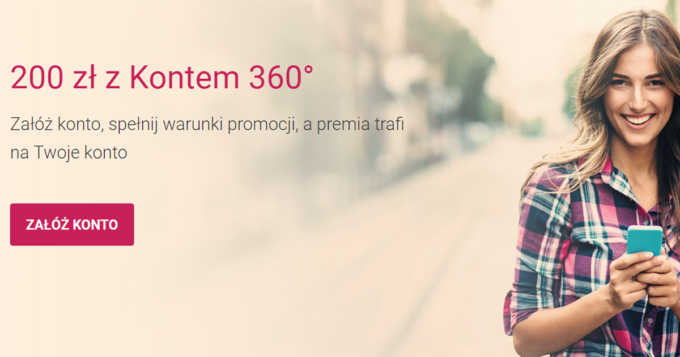 200 zł z Kontem 360
